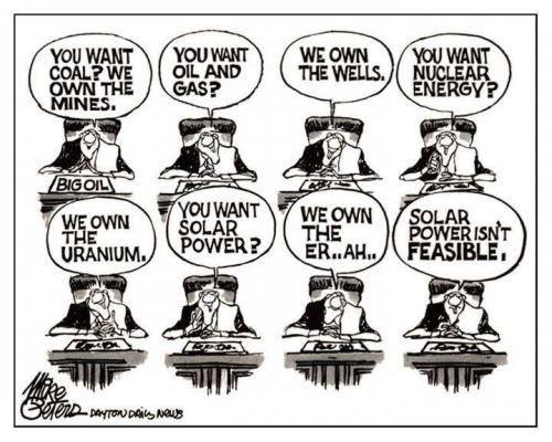 Solar isn't feasible